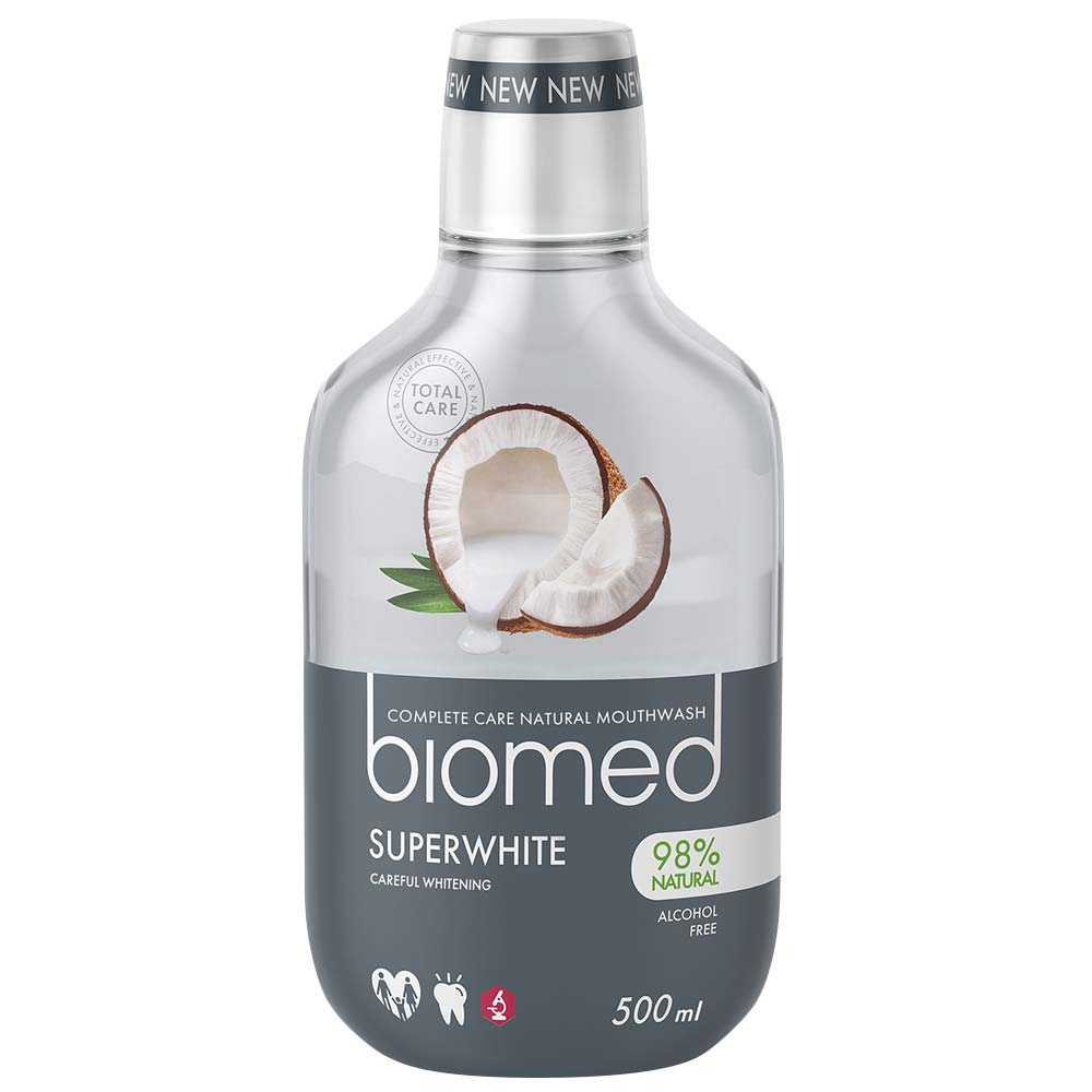 Biomed-Superwhite ústna voda 500 ml