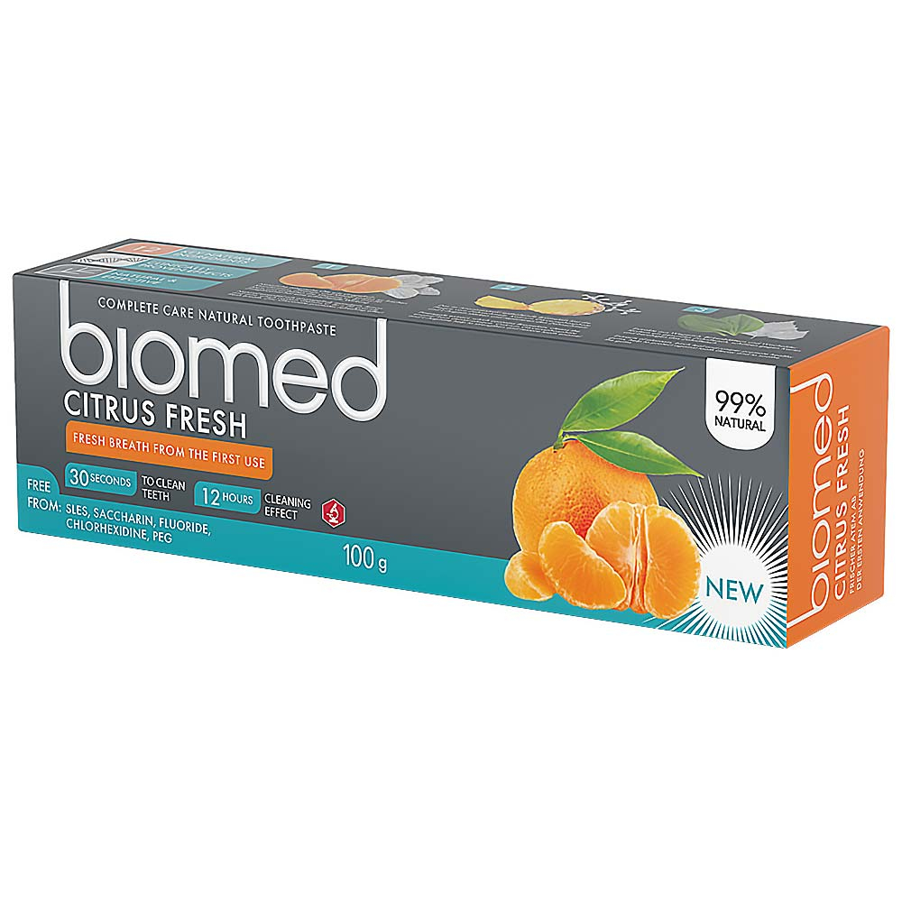 BIOMED-Citrus Fresh zubná pasta 100 g